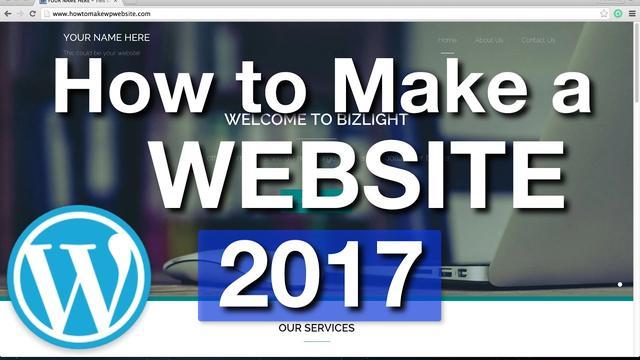 做一个小企业网站成本多少钱?自己动手做网站详细图文教程